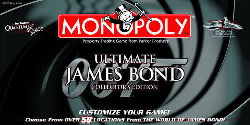 Monopoly: Ultimate James Bond Collector's Edition - New