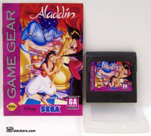 Aladdin with manual - Game Gear - Used