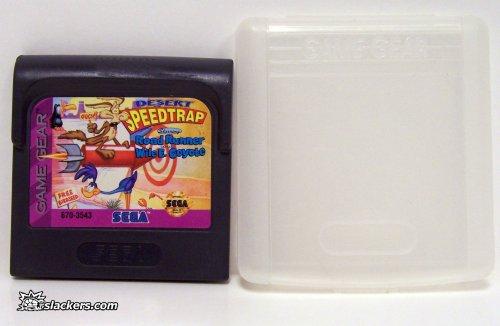 Desert Speedtrap Road Runner - Game Gear - Used