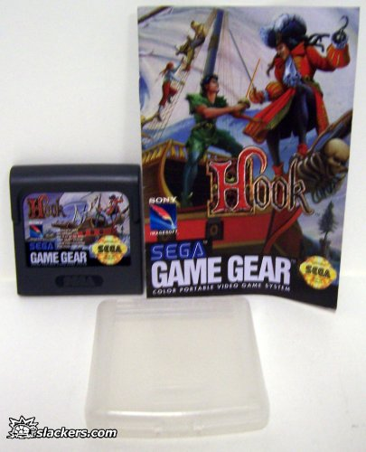 Hook with manual - Game Gear - Used