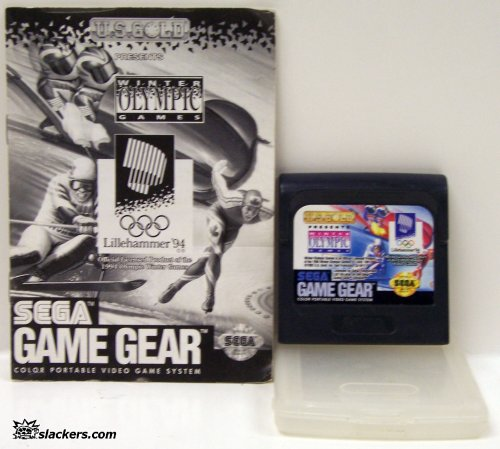 Olympic Winter Games 1994 with manual - Game Gear - Used
