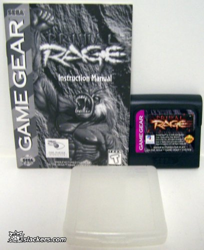 Primal Rage (1995) with manual - Game Gear - Used