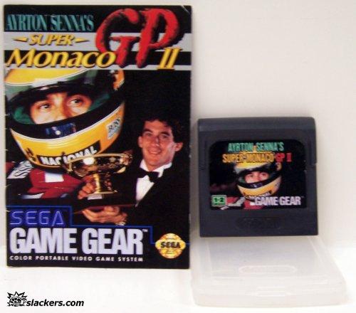 Super Monaco GP II with manual - Game Gear - Used
