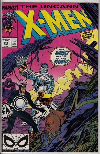 Uncanny X-Men #248 Near Mint - Comics - Used
