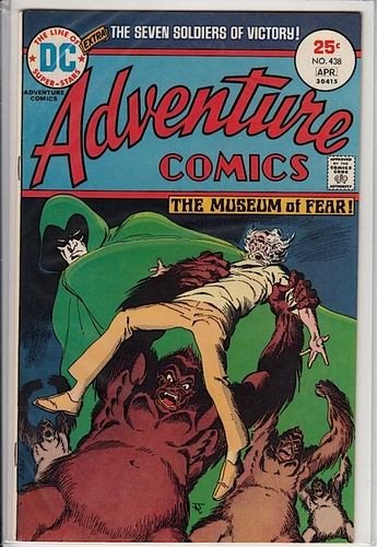 Adventure Comics #438 VF-NM - Comics - Used
