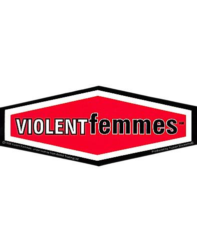 Violent Femmes Sticker - Red - New