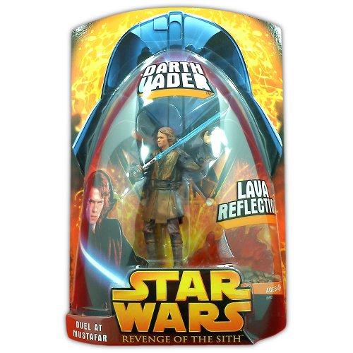 Star Wars Episode III Darth Vader Lava Reflection Duel at Mustafar - Action Figure - New