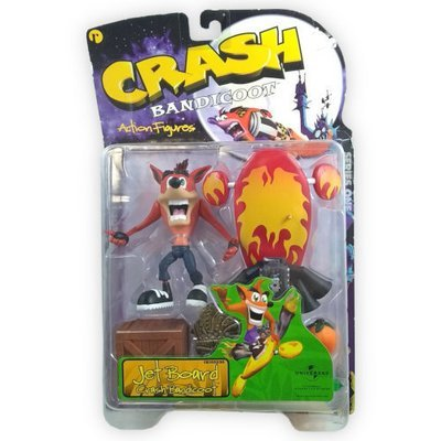 ReSaurus Crash Bandicoot Figure - Jet Board Crash Bandicoot