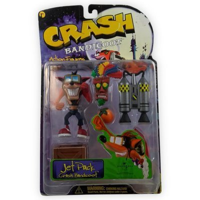 ReSaurus Crash Bandicoot Figure - Jet Pack Crash Bandicoot