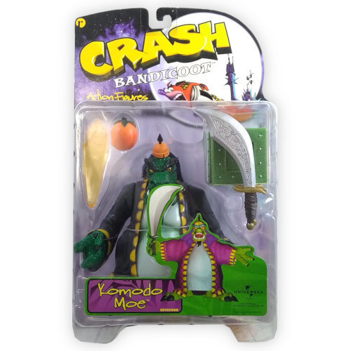 ReSaurus Crash Bandicoot Figure - Komodo Moe