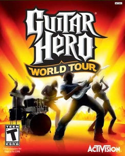 Guitar Hero World Tour (with guitar) - PS 3 - Used