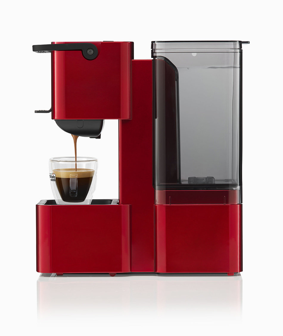 Caffitaly S27 Iris Red