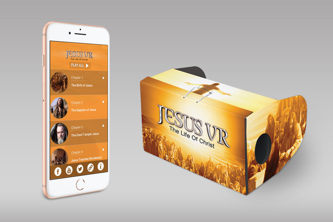Jesus VR Experience (Includes VR Glasses and complete 360° Movie) 00001