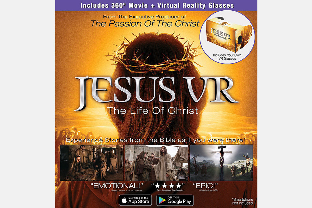 JESUS VR – GLASSES