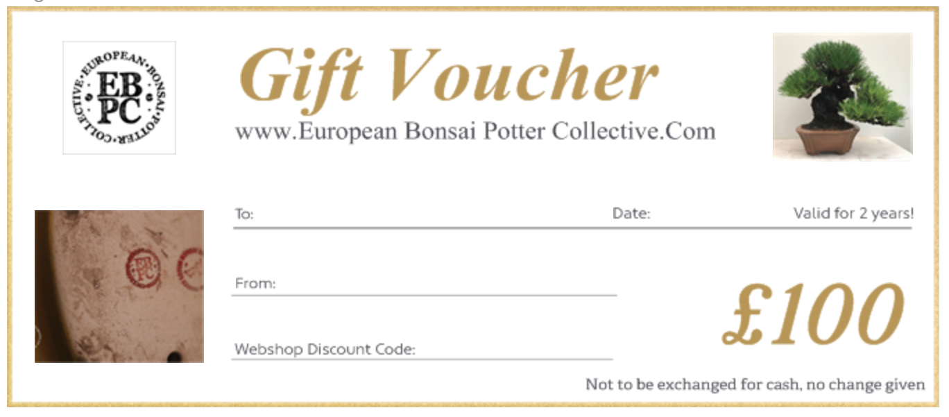 EBPC Gift Voucher - £100