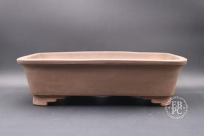 Mirt Pots - 44.3cm; Unglazed; Rectangle; Light Brown Clay;