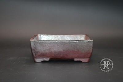 Englert Keramik - 16cm; Rectangle; Unglazed; Wood-fired; Rustic; Brown; Martin Englert