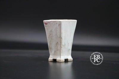 Carina Jern - 8.6cm; Mame; Shohin; Accent; Glazed; Cascade; White; Pink; Crystals