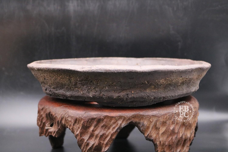 Bryan Albright - 28.5cm; Round; Nanban; Dark Brown; Light Browns
