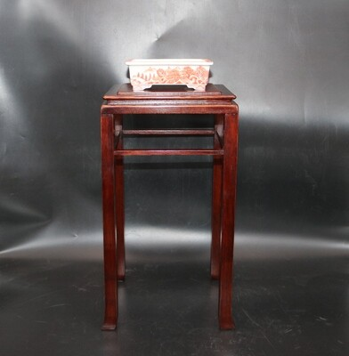 SOLD - Doug Mudd Bonsai Tables -   38cm (h); Tall Cascade Table; Protective box; High-quality finish; Rarely available