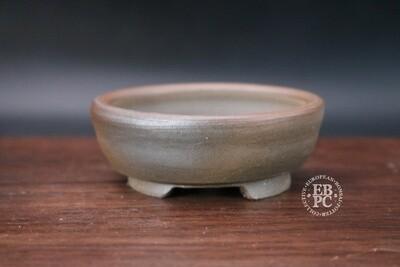Guerao; 8.6cm; Unglazed; Round; Small Shohin; Guerao Pot