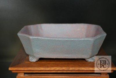 Amdouni Bonsai Pots - 16.5cm; European; unglazed; octagon; rectangle; shohin