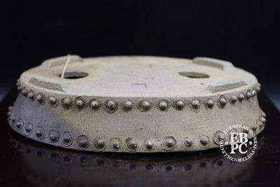 Amdouni Bonsai Pots - 19.6cm; unglazed; oval; dual shade; rivets