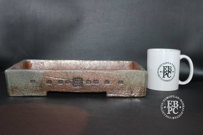 Englert Keramik - 30.6cm; Rectangle; Rustic; Browns; Wood-fired; Martin Englert