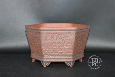 Stone Monkey Ceramics - Unglazed; Hexagonal; Semi Cascade; Textured finish; Andrew Pearson