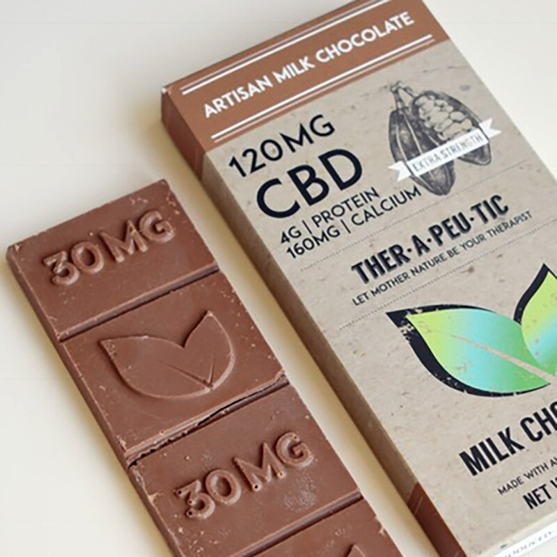 Extra Strength MILK Chocolate 120mg CBD