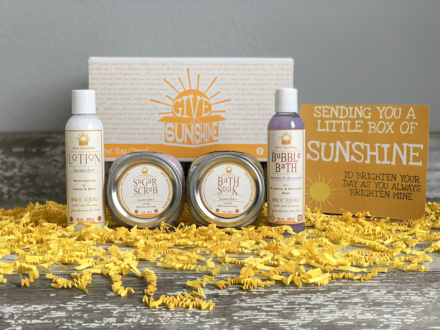 Ray of Sunshine Box