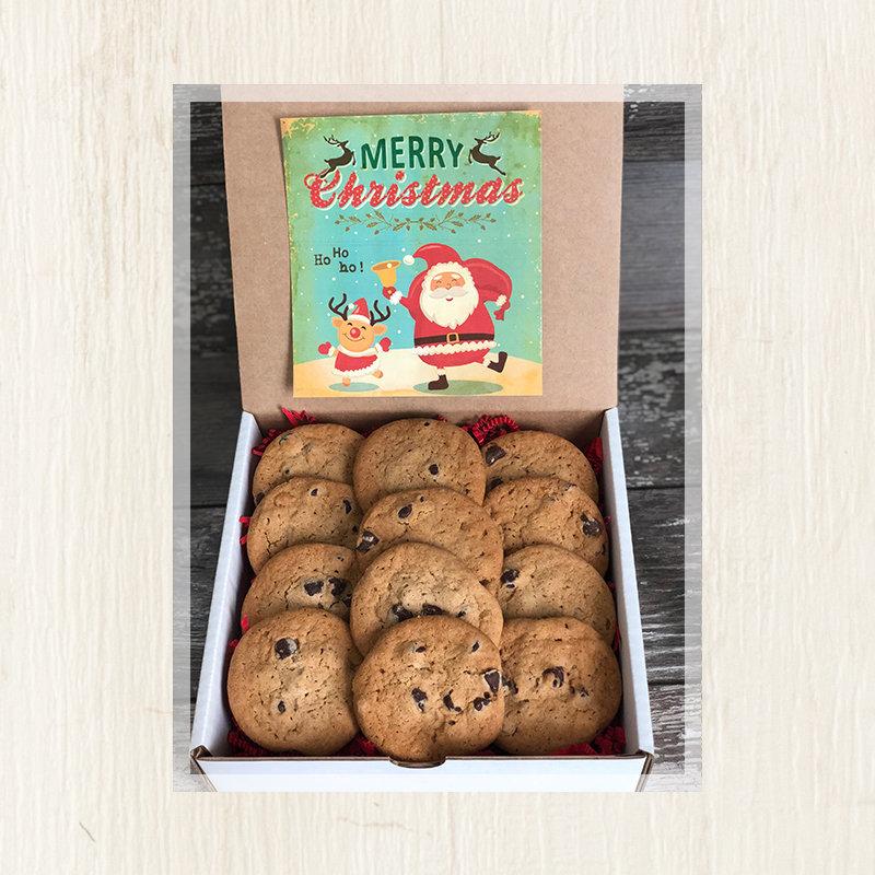Santa's Cookie Box