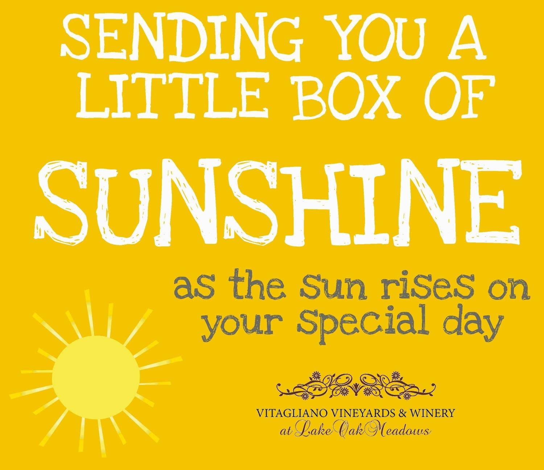 Box of Sunshine Card