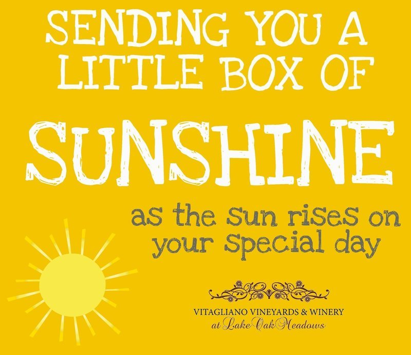 Box of Sunshine Card