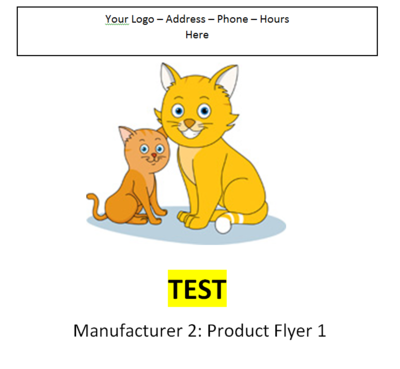 Manufacture 2 - Product Flyer 1