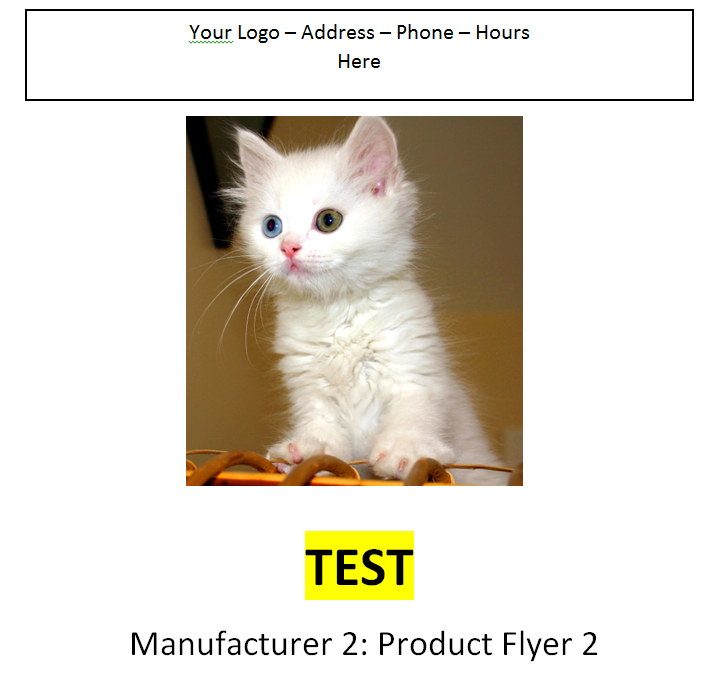 Manufacture 2 - Product Flyer 2