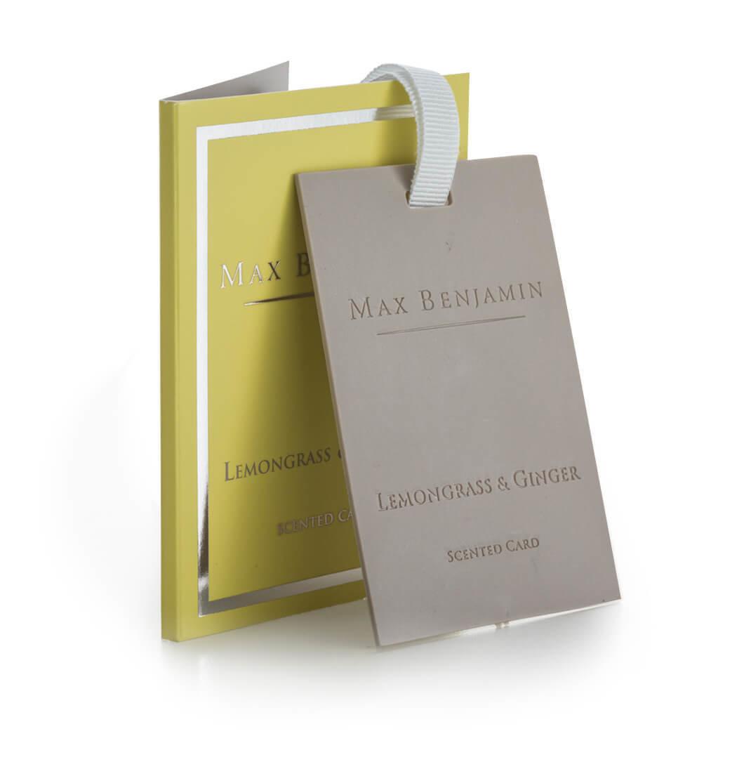 Aromatinė kortelė LEMONGRASS & GINGER