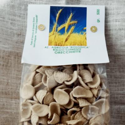 Orecchiette di Grano duro Biologico varietà