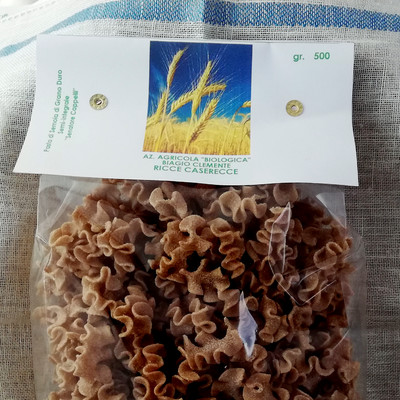 Ricce caserecce di Grano duro Biologico varietà