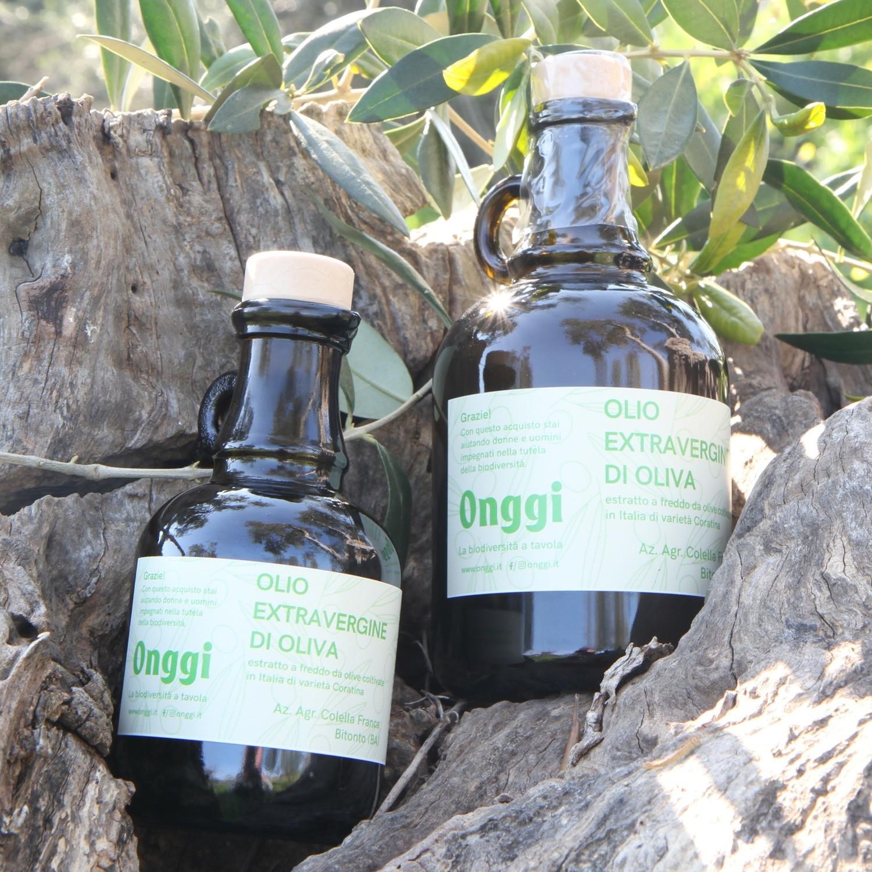 Olio extravergine di oliva varietà 100% Coratina