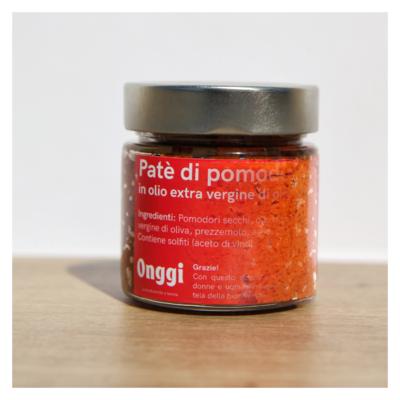 Patè di Pomodori secchi in olio extra vergine di oliva