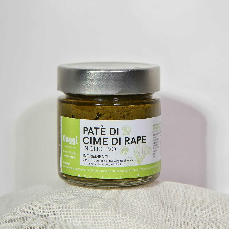 Patè di cime di rape in olio extra vergine di oliva