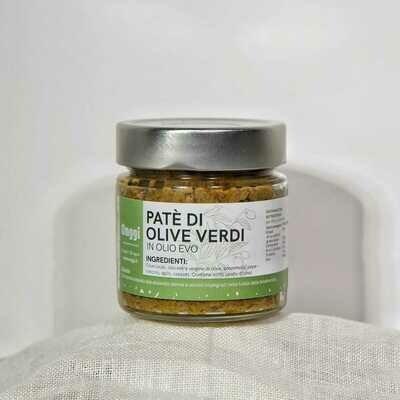 Patè in Olio EVO di Olive Verdi