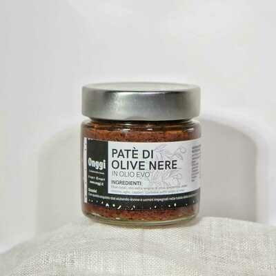 Patè in Olio EVO di Olive Nere