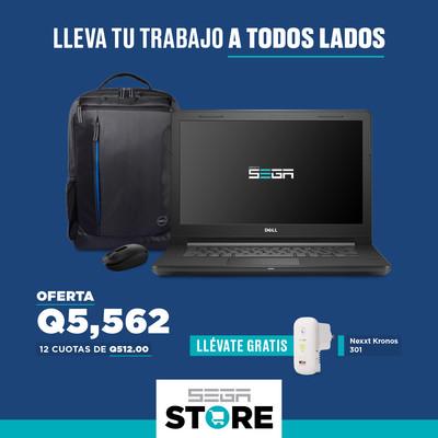 Oferta para empresa - Dell Vostro 3468 Core i3-7020U 8GB RAM + Mouse 1850 Wireless Black