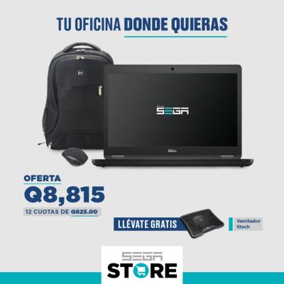 Oferta para empresa - Dell Latitude 5490 + mochila Klip Xtreme 15.6 pulgadas + Ventilador XTech