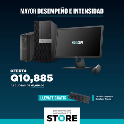 Oferta para empresa - Dell Optiplex 7060 + Monitor Dell 2216H 21.5