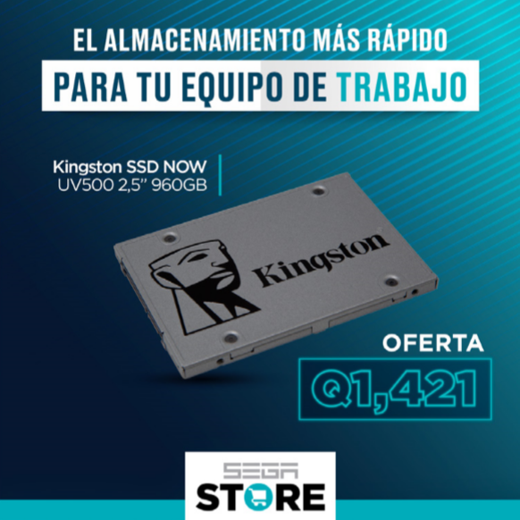 Kingston SSDNow UV500 - SSD 960 GB
