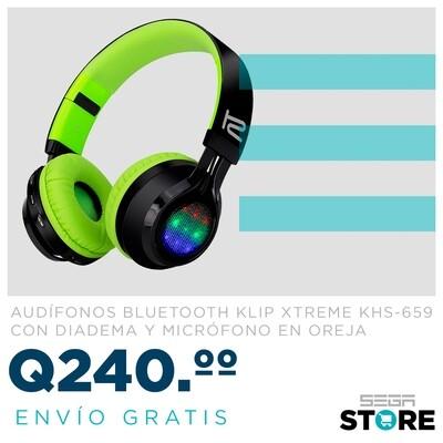 Oferta del audífonos bluetooth Klip Xtreme KHS-659 con diadema y micrófono en oreja