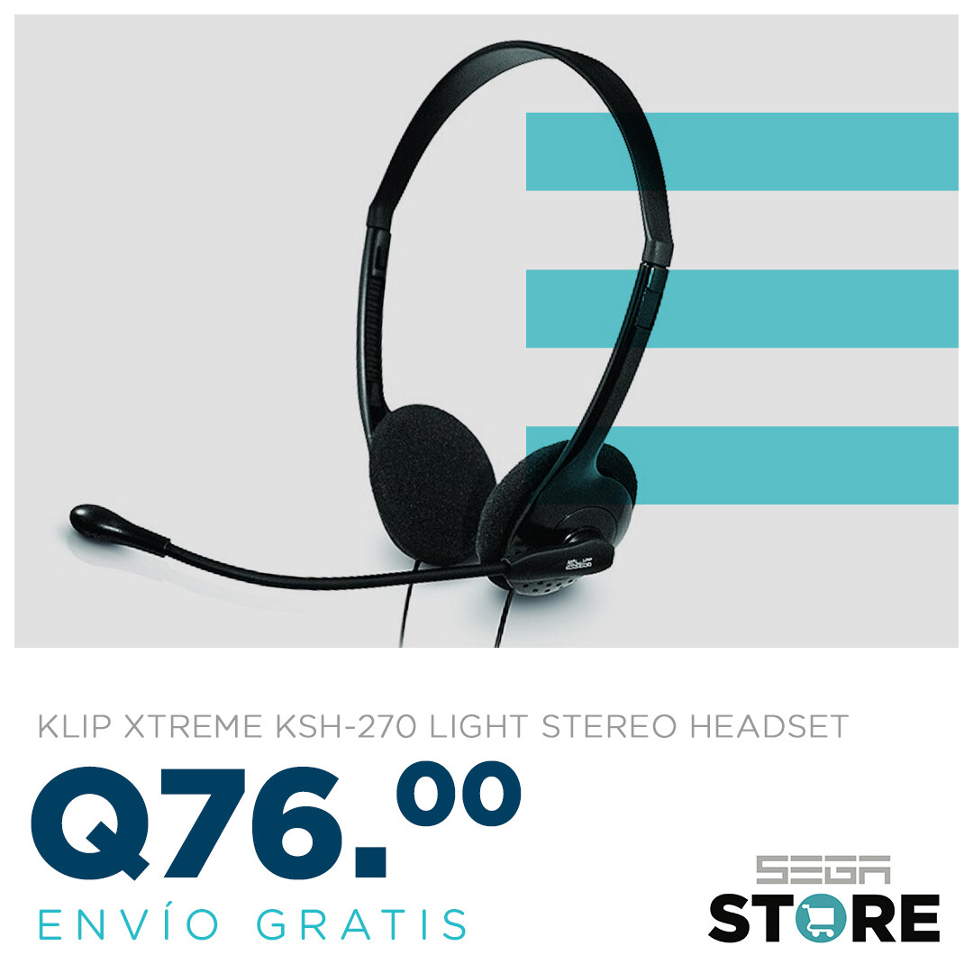 Oferta de la semana Klip Xtreme Headset In-line volume control